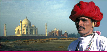 Taj Mahal Tours in Agra India, Agra Taj Mahal Holiday Vacations, Agra Taj Mahal Travel Tourism